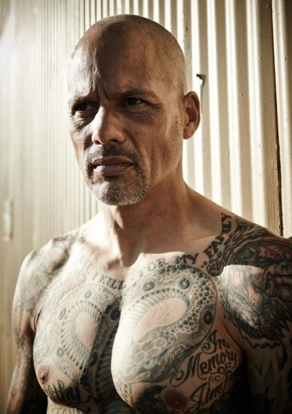 14 photos of david labrava inked shirtless david for Sons of anarchy tattoos