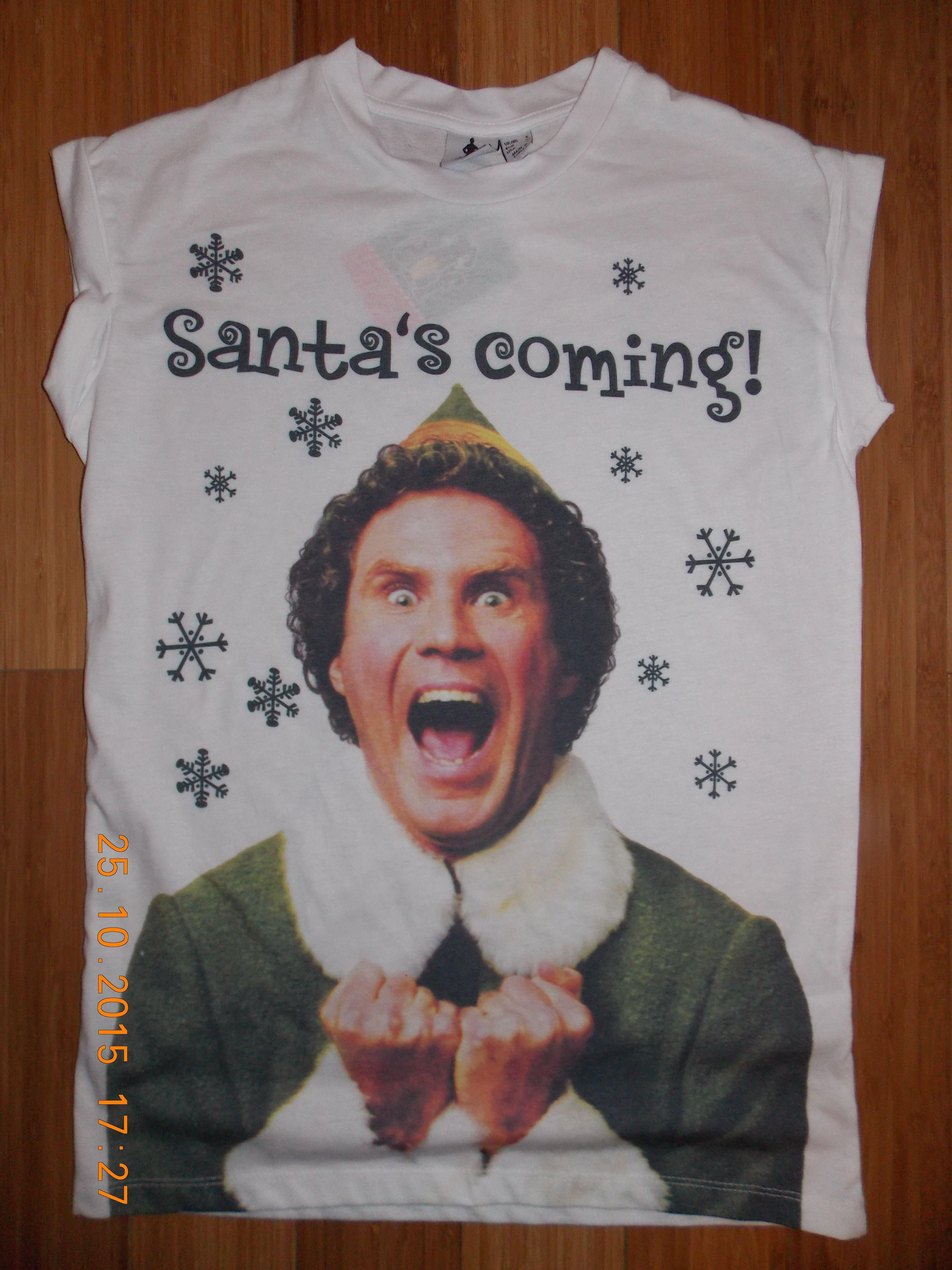 d47e6e6d Perfect for Christmas holidays! Elf Movie T Shirt Will Ferrell karen8karen8  on ebay