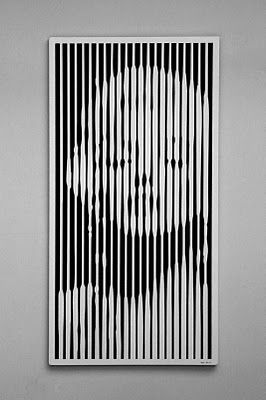 Rudi Sgarbi: Quadro Optical Art (Op Art)