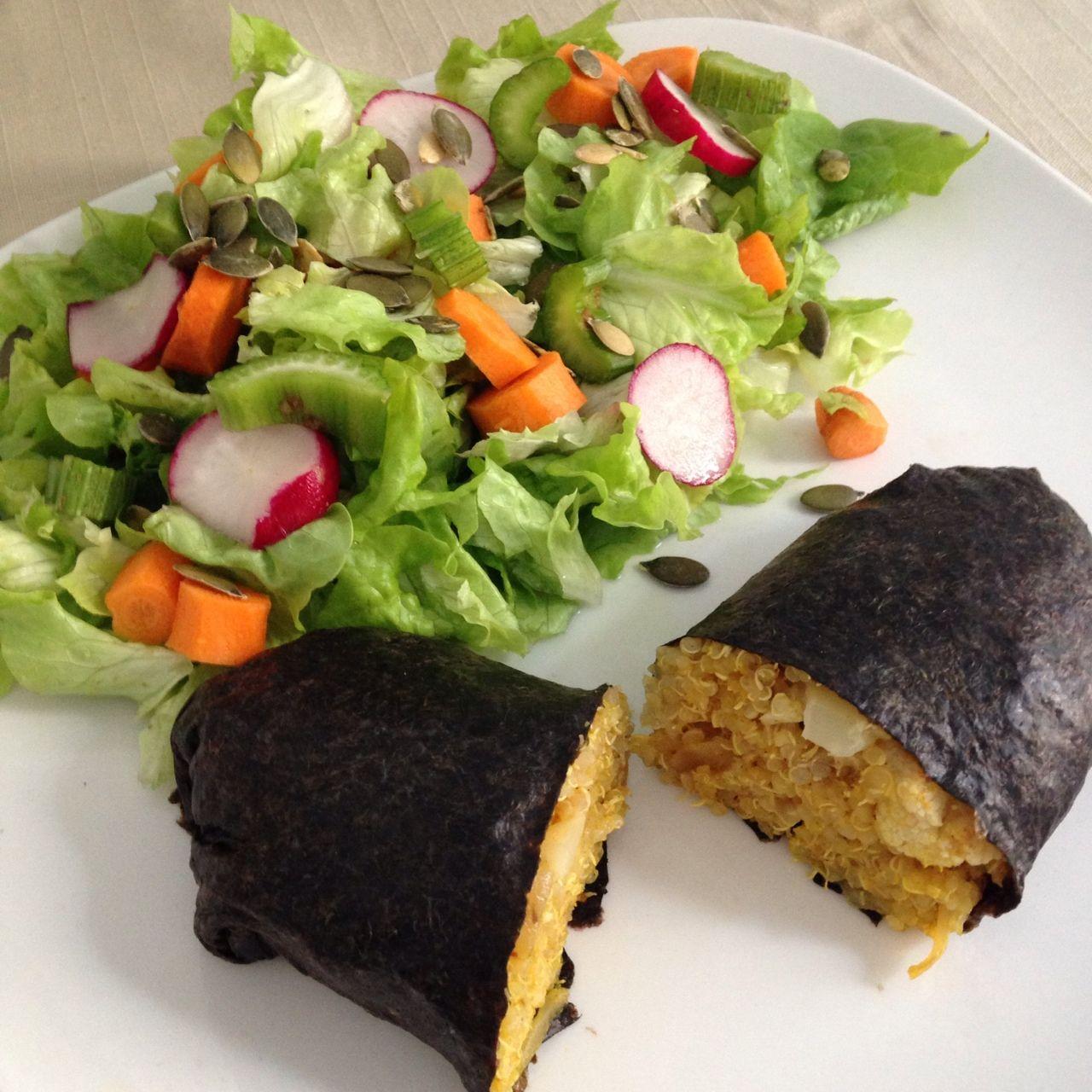 Recetas veganas con alga kombu