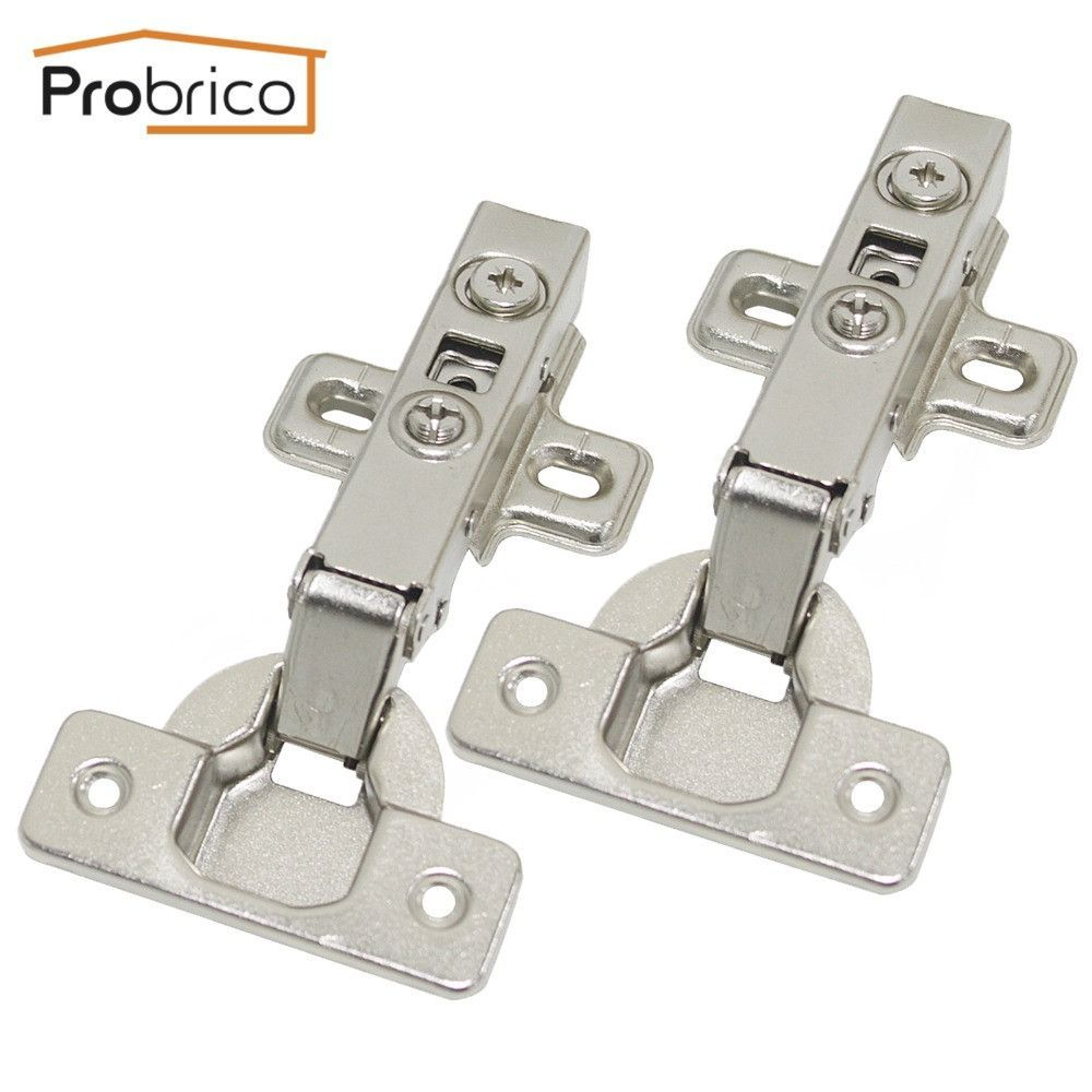 Probrico Soft Close Concealed Kitchen Cabinet Hinge Chr093ha Full Overlay Hydraulic Furniture Cupboard Door Hinges Hinges For Cabinets Kitchen Cabinets Hinges