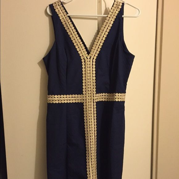 Lilly Pulitzer BENTLEY shift dress Never been work Bentley shift dress by Lilly Pulitzer. Brand new with tags. No alterations have been made and item is in unused original condition Lilly Pulitzer Dresses Midi