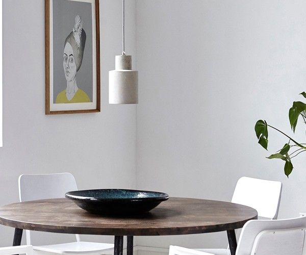 House doctor nod beton pendel lamp and pale color palette home
