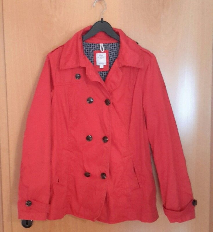 S oliver rote jacke