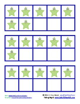 photograph relating to Ten Frames Printable identify Absolutely free Printable 10-Frames 10 Frames Kindergarten math