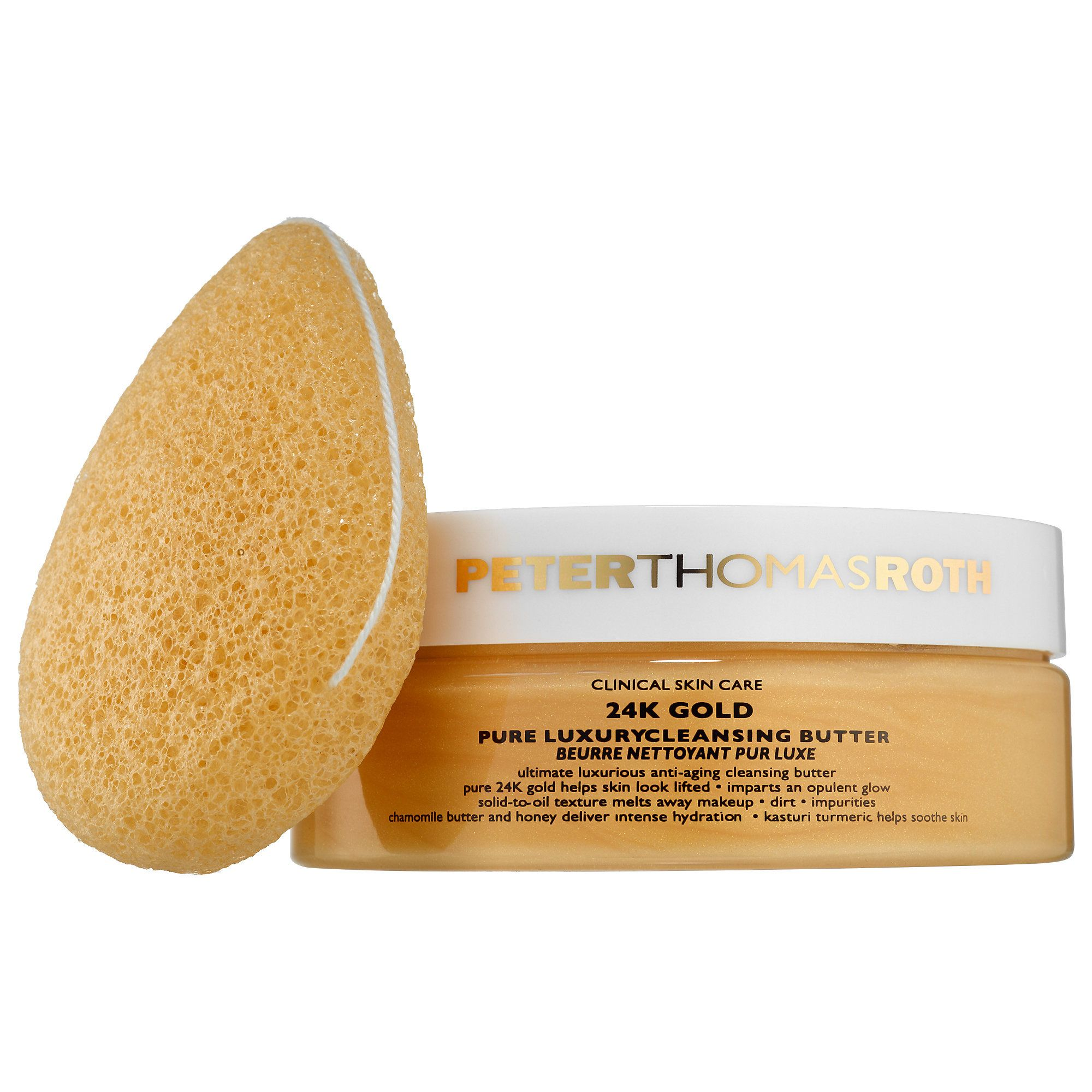 Gold infused beauty products pure products facial