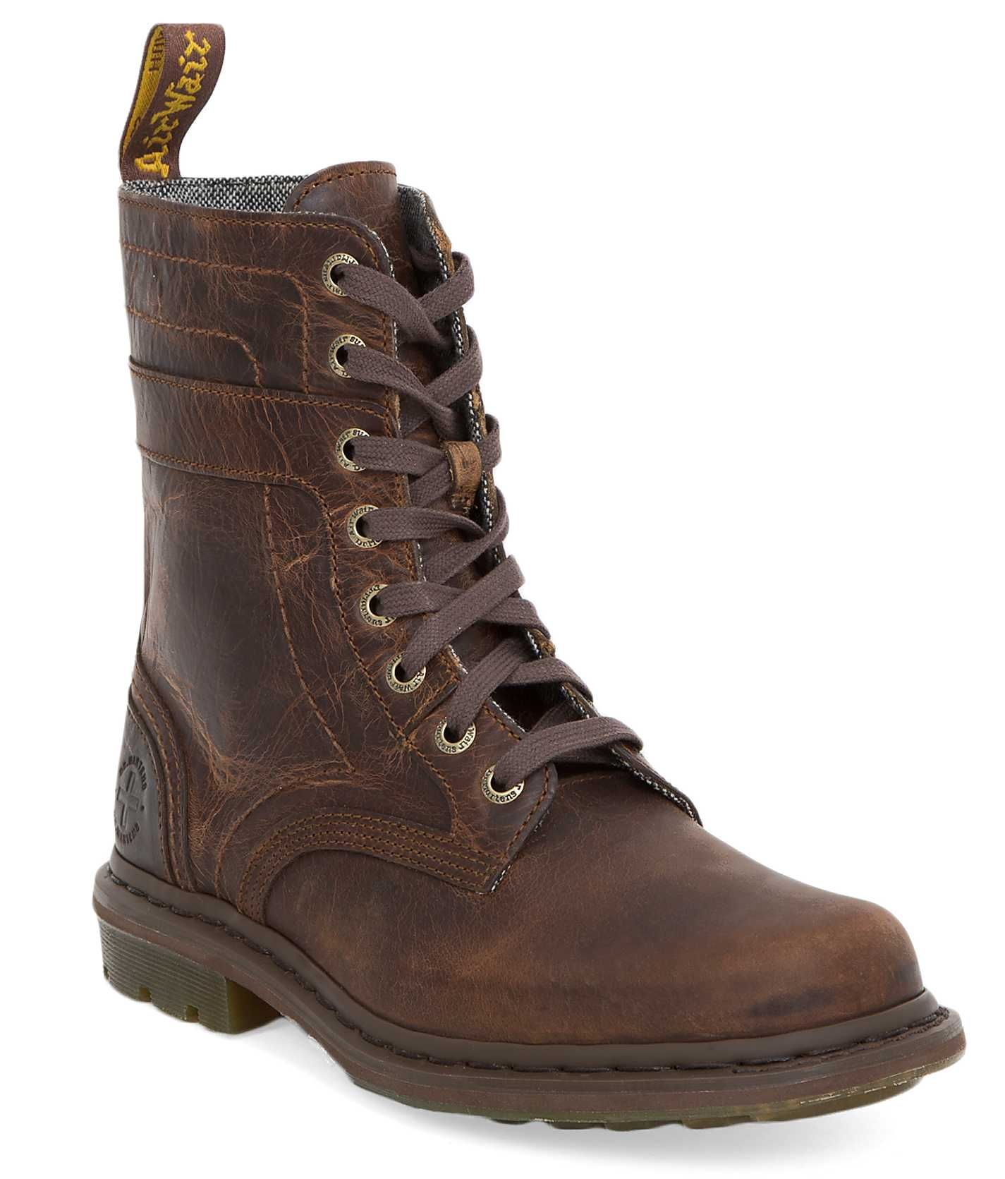 Dr. Martens Slater Boot - Men's Shoes in Tan Greenland
