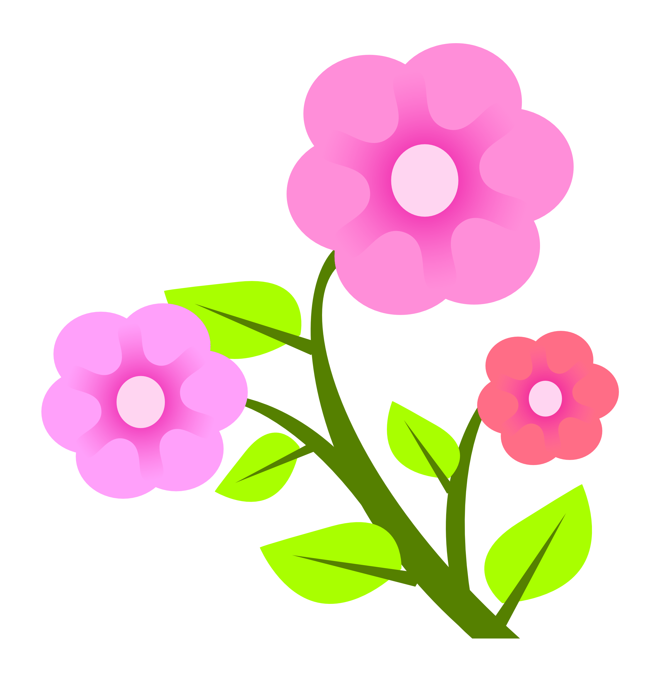 Flower Vector PNG Image Vector flowers, Png images