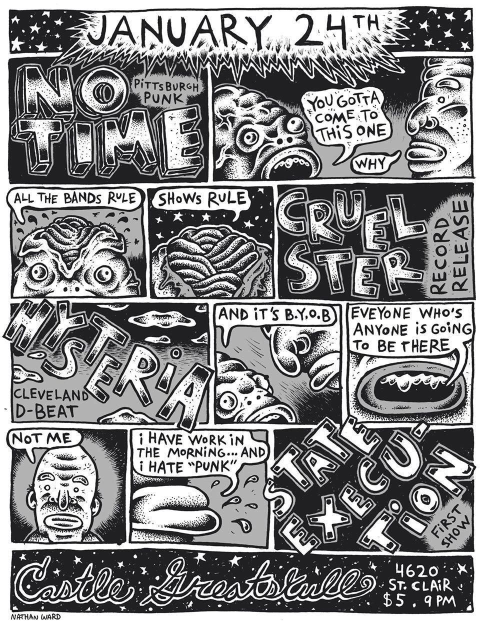 Nathan Ward illustrated comic