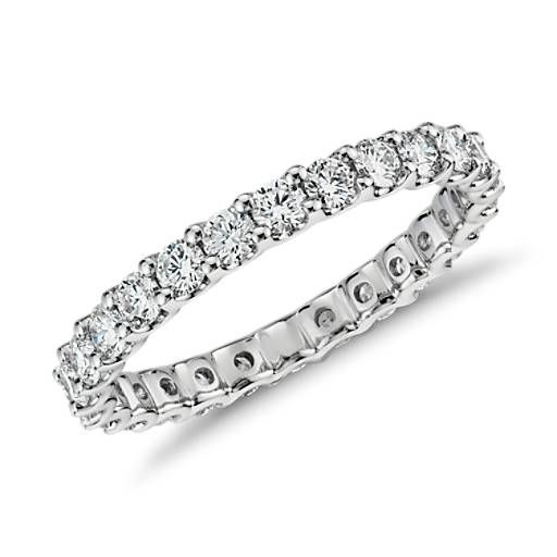 d9aea0f6d0a Luna Diamond Eternity Ring in 14k White Gold (1 ct. tw.) in 2019 ...