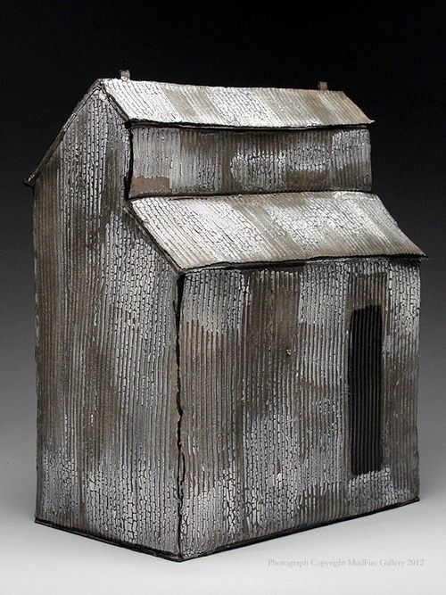 Artpropelled Mary Fischer Clay House 創る 彫刻 オブジェ