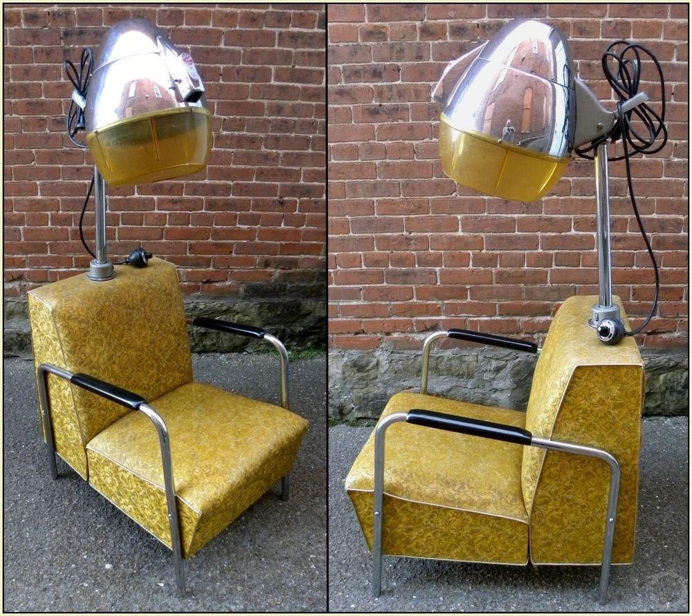 1950u0027s Vintage Mid-Century Modern VEECO Model 400 Adjustable Hair Dryer Chair #Veeco & 1950u0027s Vintage Mid-Century Modern VEECO Model 400 Adjustable Hair ...