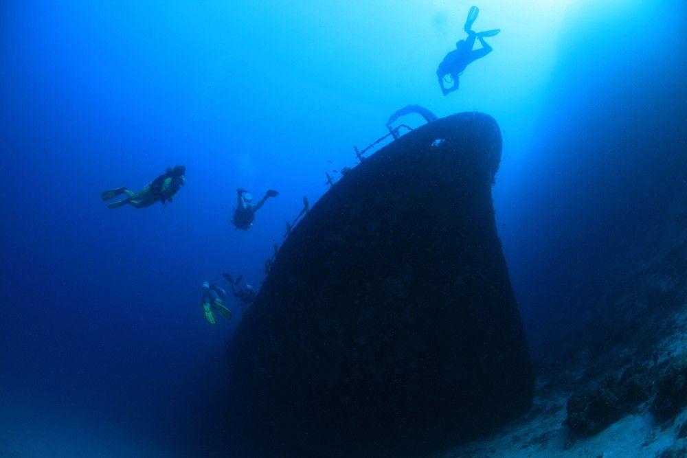 El Kuda Giri fue hundido intencionalmente en las Maldivas, para crear un arrecife. Foto: Shutterstock