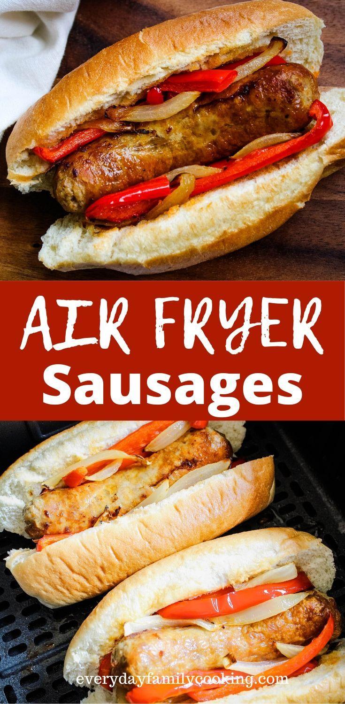 Air Fryer Italian Sausage Recipe in 2020 Air fryer