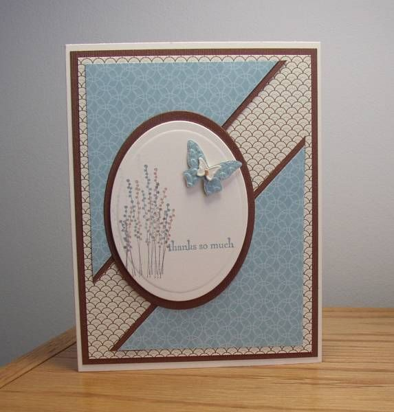 Birthday Thank You by Joanlab - Cards and Paper Crafts at Splitcoaststampers