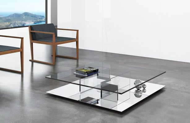 Impressionnant Table Salon Verre Coffee Table Rectangle