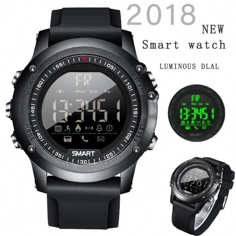 2018NEW BANGWEI Smart watches Mens 50 Meters Depth Waterproof Sports Brand Riding Ascend Fitness Tim...