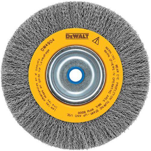 Dewalt Dw4904 Crimped Wire Wheel Brush Crimped Dewalt Brush Wheel Wire Wheel Dewalt Bench Grinder