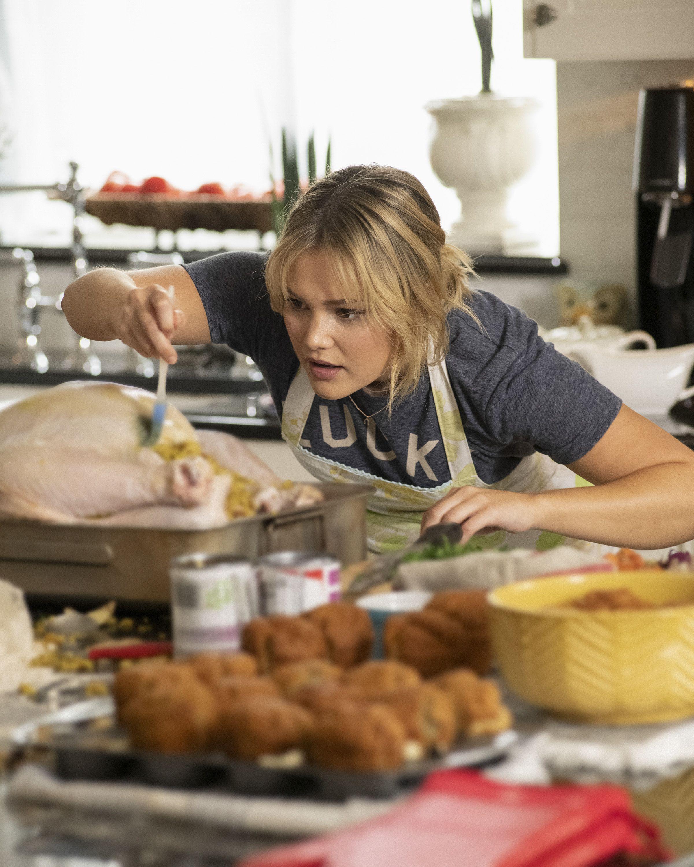 Olivia Holt Teases Thanksgiving Freeform Movie Turkey Drop