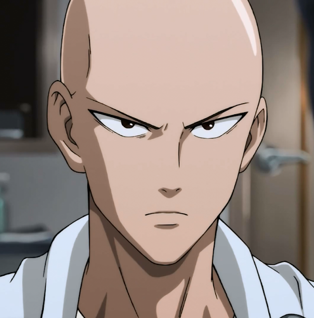 Profil Karakter Saitama di Anime One Punch Man (OPM