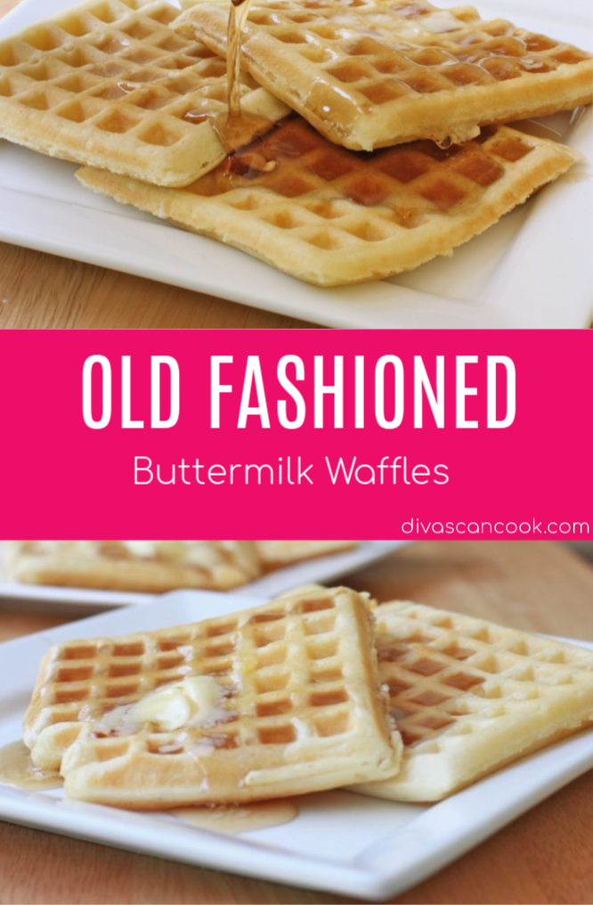 Easy Buttermilk Waffles Recipe Easy Buttermilk Waffle Recipe Waffle Recipes Thin Waffle Recipe