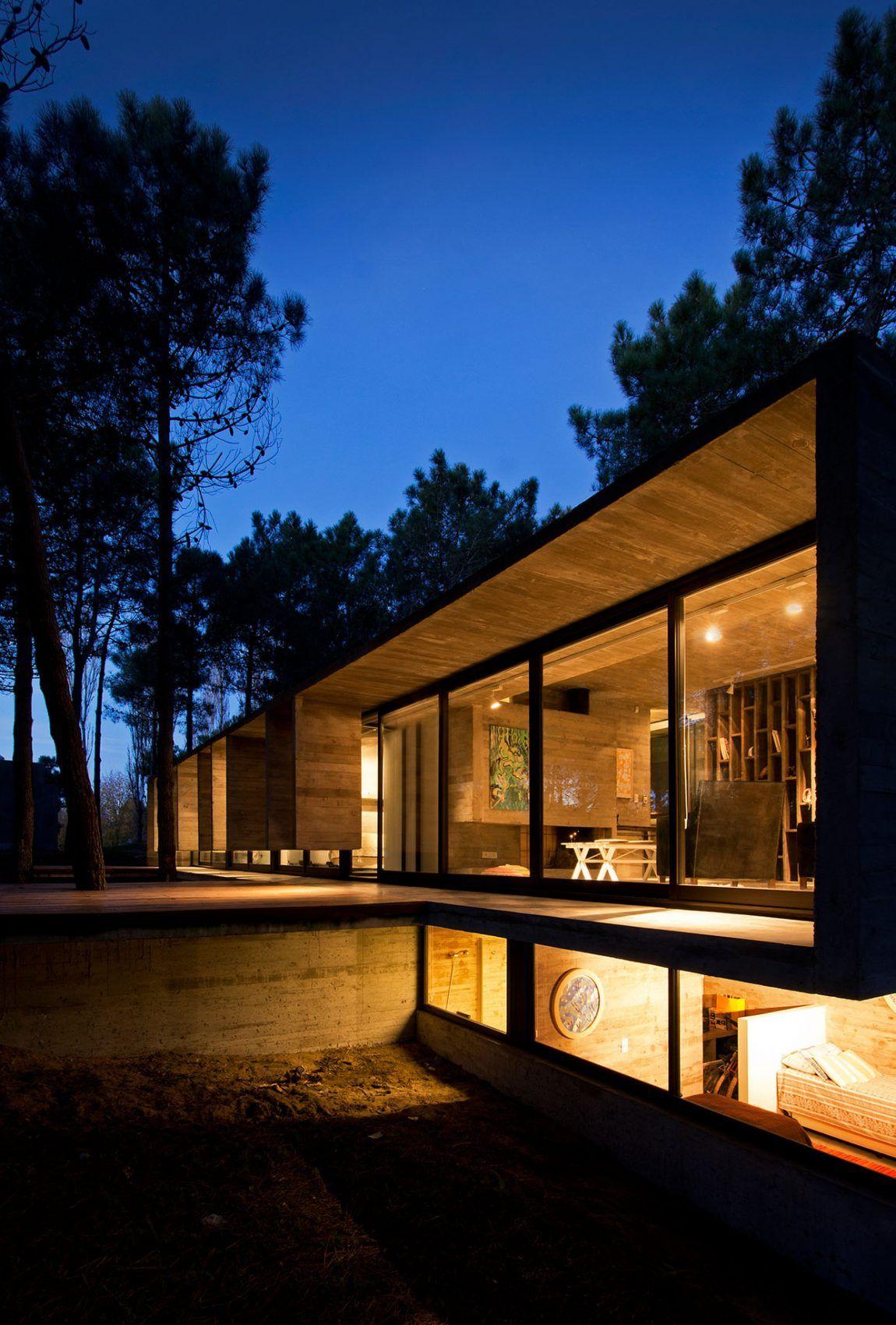 Bak Arquitectos Design A Contemporary Home In Valeria Del Mar,