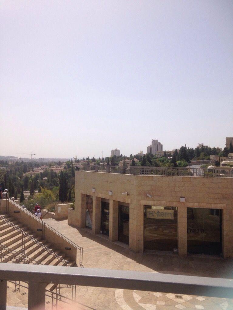 Jérusalem Ouest vue depuis la porte de Jaffa