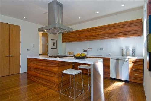 Genial Wood Kitchen Design San Francisco Home Pictures Featuring Modern Design