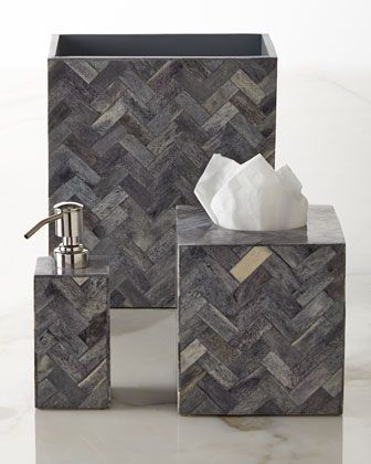 Osso+Vanity+Accessories+by+Kassatex+at+Horchow.