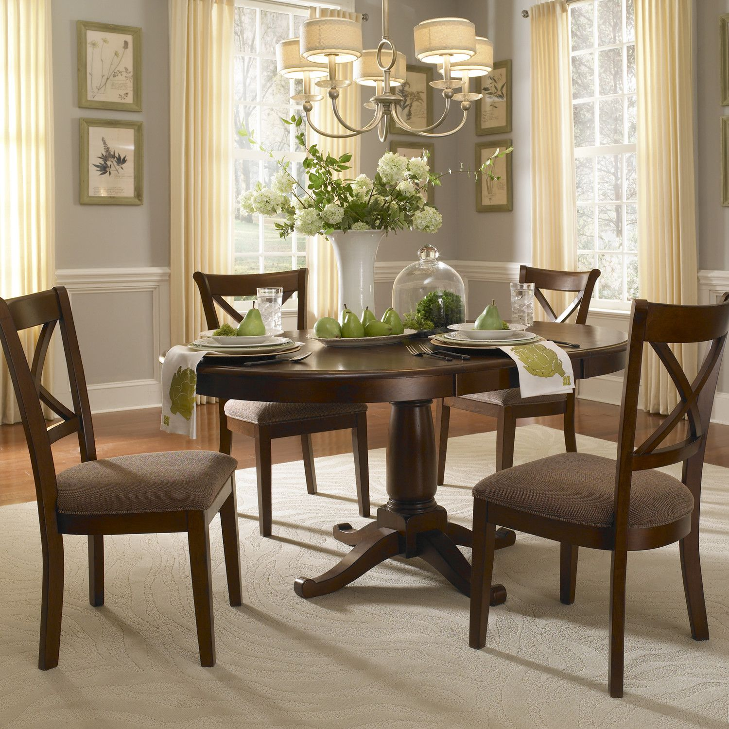aamerica desoto extendable dining table round tables
