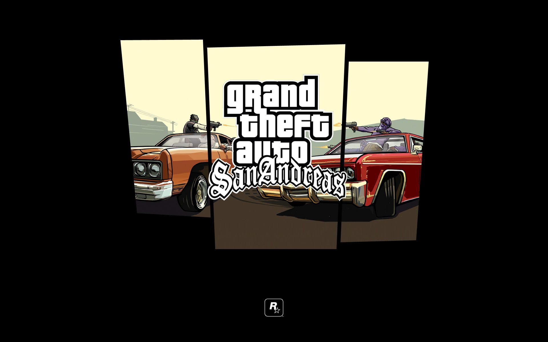 Grand Theft Auto San Andreas Wallpaper Machine Logo Shooting Gta Rockstar Grand Theft Auto San Andreas Gang In 2021 San Andreas Game San Andreas Grand Theft Auto