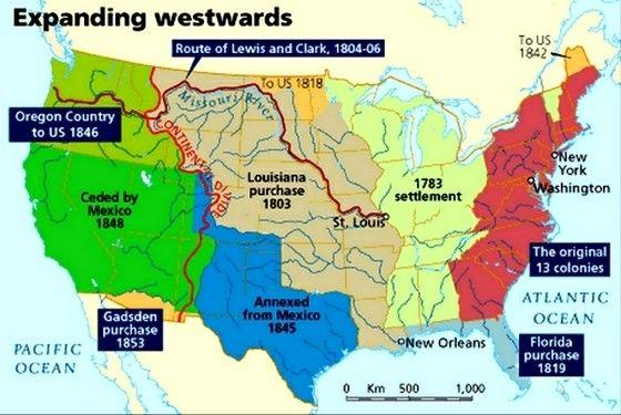 on 1803 usa map