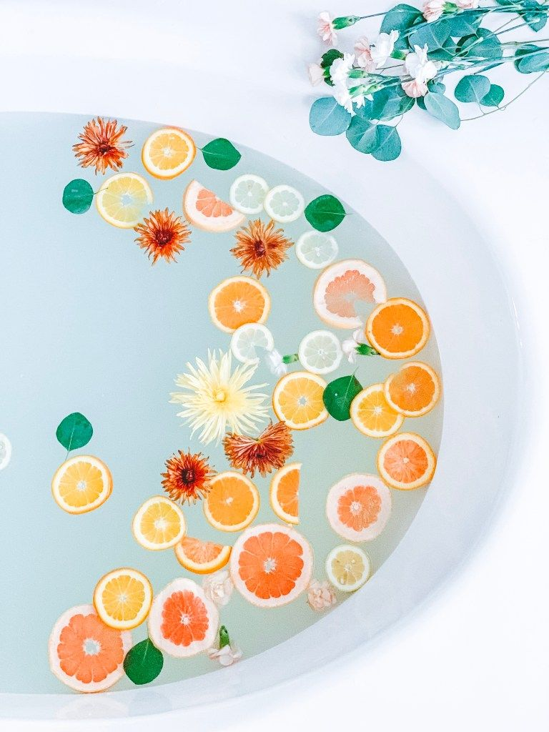 A Soothing Citrus & Lavender Milk Bath - Aloha Botts & Tots