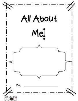 All About Me Writing Template | School Resources, Activities & Ideas ...