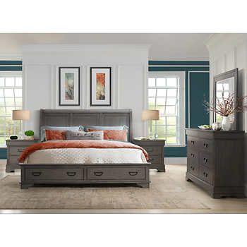 greenwich 5 piece king bedroom set 2 499 99 home bedroom sets rh pinterest com