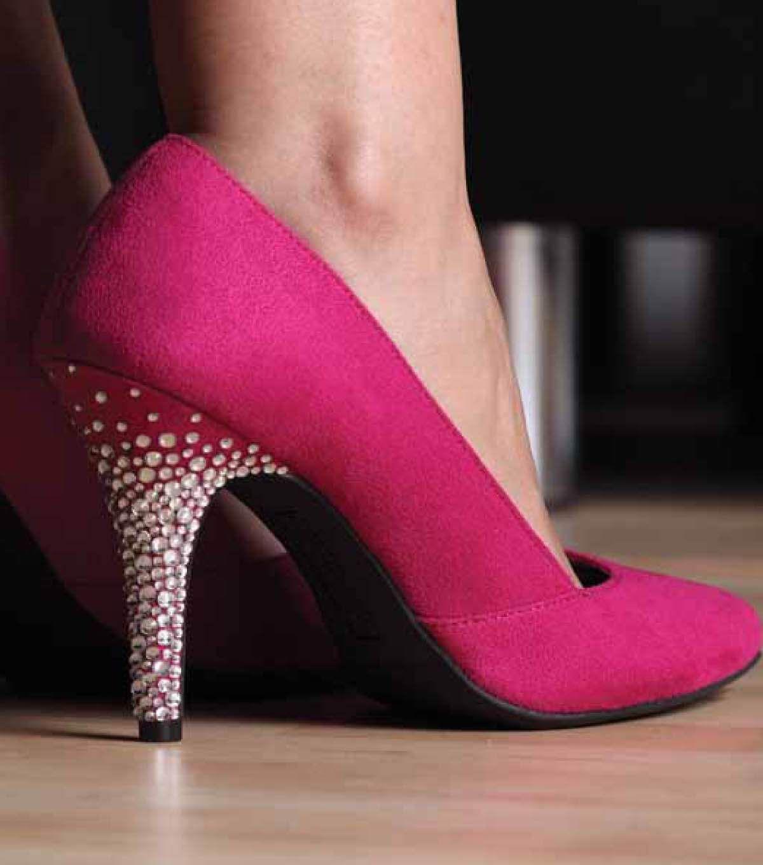 Kick Up Your Heels Sparkle Pumps