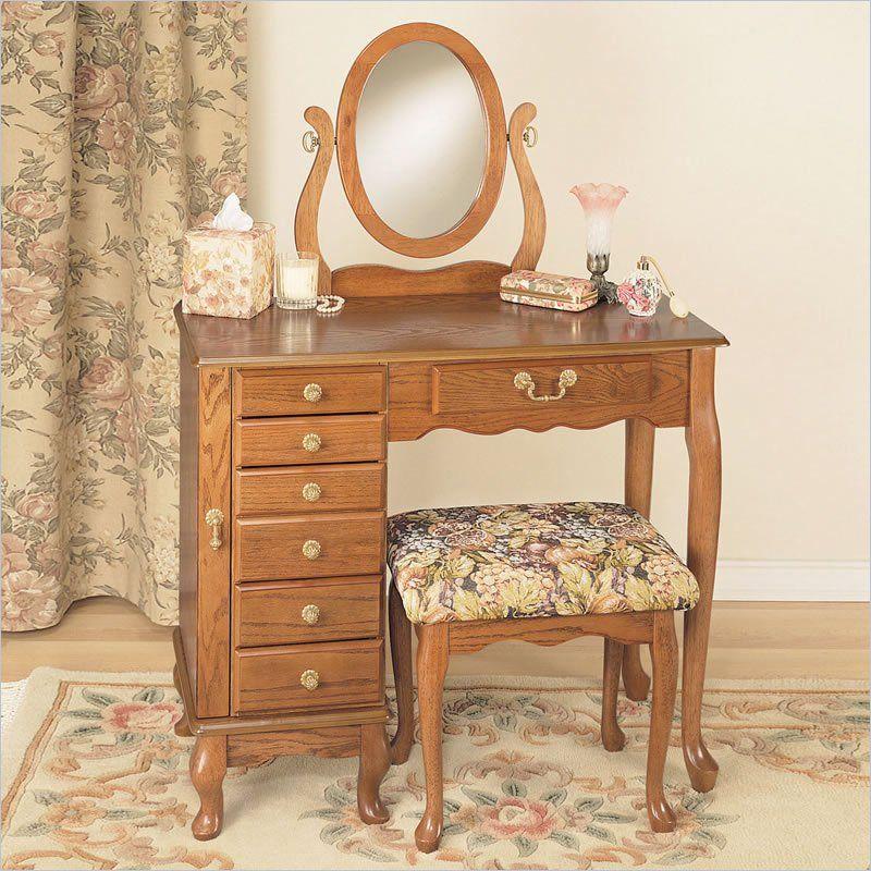 Oak Makeup Vanity Google Search Bedroom Vanity Oak Bedroom