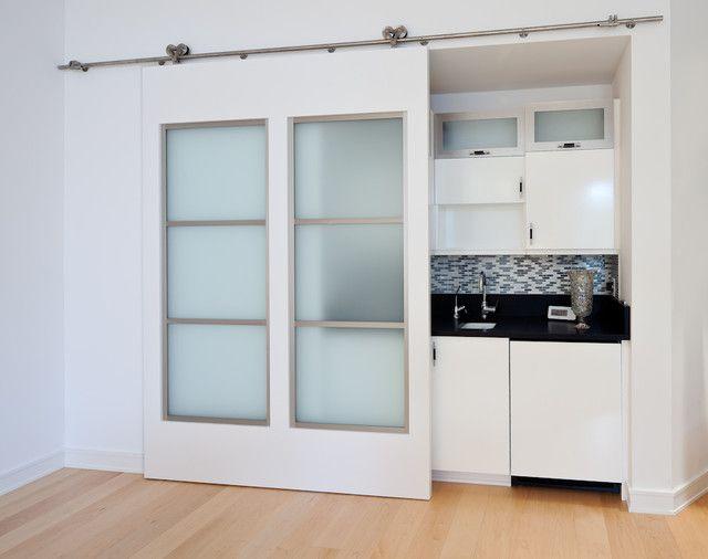 Schiebetür küche  Schiebetüren küche oberschiene geitmechanismus küchenzeile | Büro ...