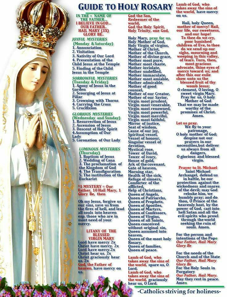 Pin by Terri Lankford on rosary Holy rosary, Rosary