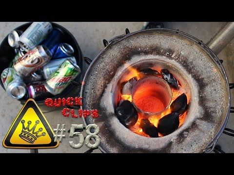 QC#58 - Pop Can Foundry - YouTube -- The King of Random ...