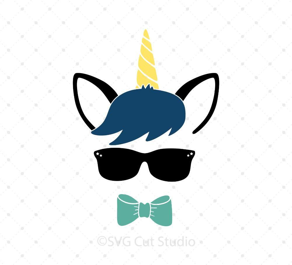 Unicorn Boy Svg Cut Files Svg Files Unicorn Birthday