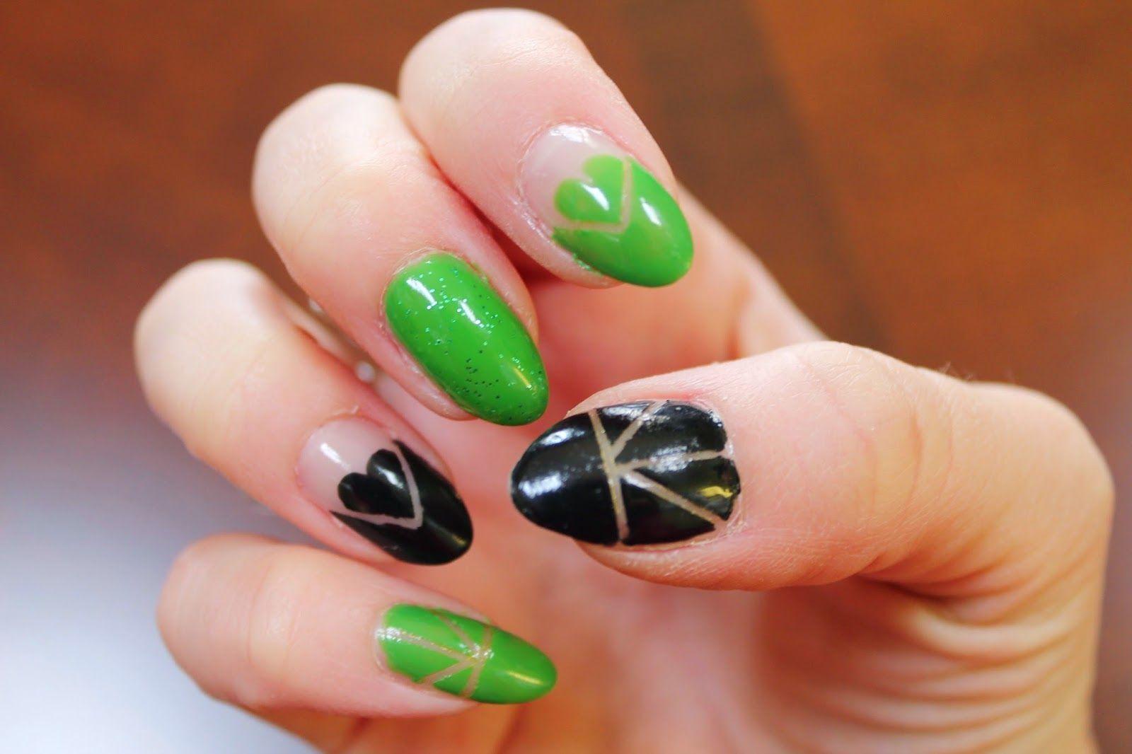 Jersey Girl, Texan Heart: 2 St. Patrick\'s Day Nail art | Nailed It ...