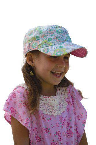 605b87c8a5bda Girls Mao Cap Flower Print Millymook