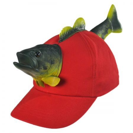 This hat is simply amazing. 3D Fish Baseball Cap available at   VillageHatShop 19bdbe2a314