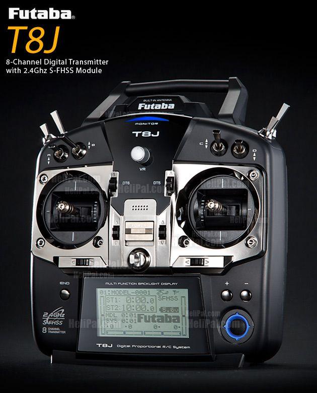 Futaba T8J + R2008SB 8-Ch 2 4GHz S-FHSS Radio System - Futaba-Acc