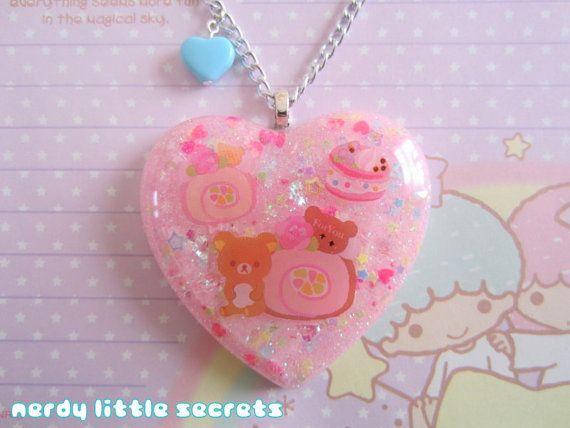 Fairy Kei Pastel Rilakkuma Korilakkuma Sweet by NerdyLittleSecrets, $14.00