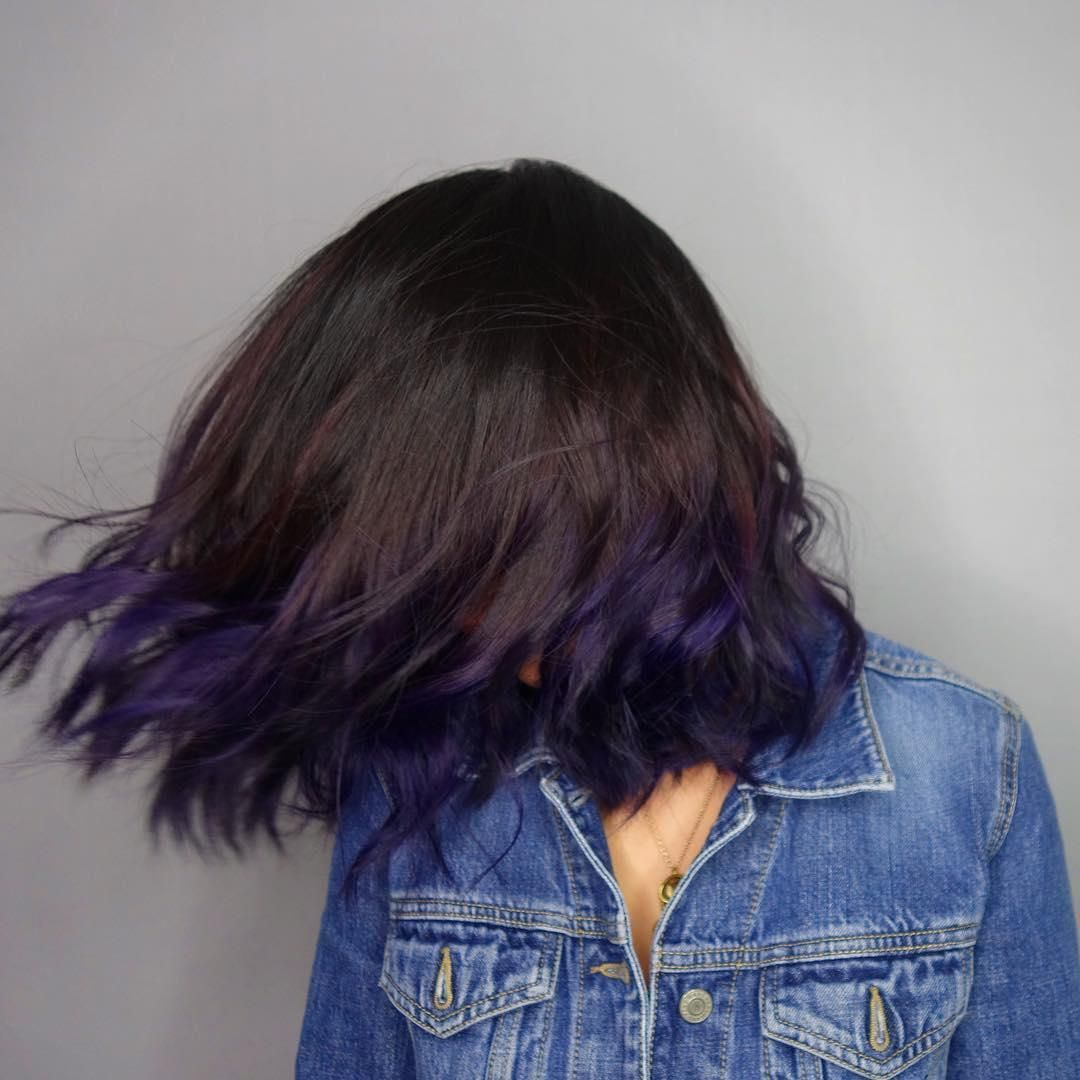 Pin On Blue Hair Color