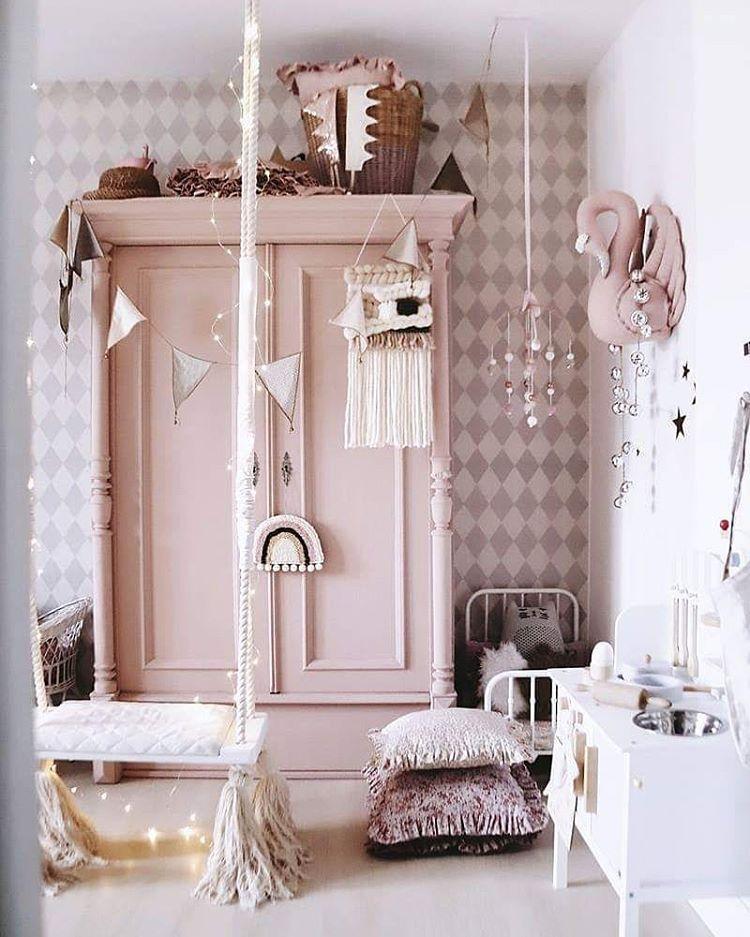 Babyzimmer einrichten Ideen Inspo Kinderzimmer rosa Boho