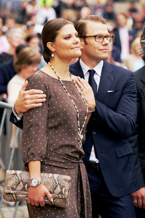 Happy fourth wedding anniversary to Crown Princess Victoria and Prince Daniel of Sweden!