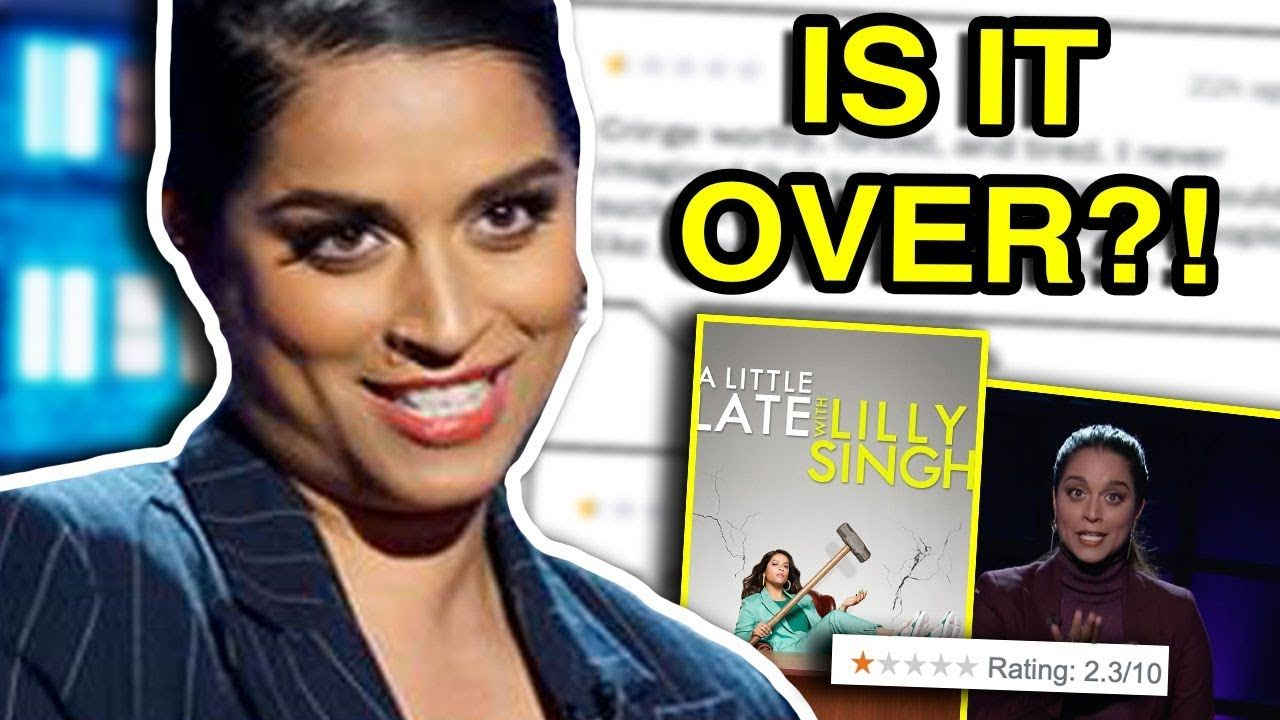 LILLY SINGH'S LATE NIGHT SHOW IS IN TROUBLE #youtube #yt #youtubers #youtuber #spillsesh #lillysigh #iisuperwomanii #tv #show #tvshow #alittlelatewithlillysigh #latenightshow #cringe #cringey #lgbt #bi #bisexual #woman #biwomanofcolor #bisexualwomanofcolor #latenight #video